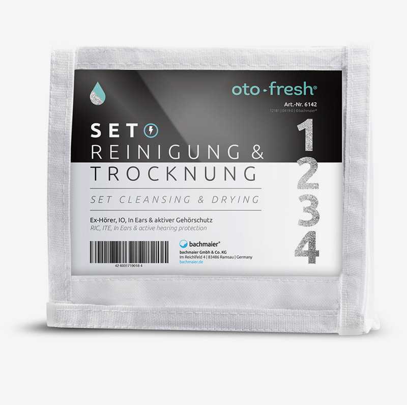 Cleansing with Oto-fresh - Equipment