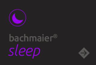 bachmaier sleep